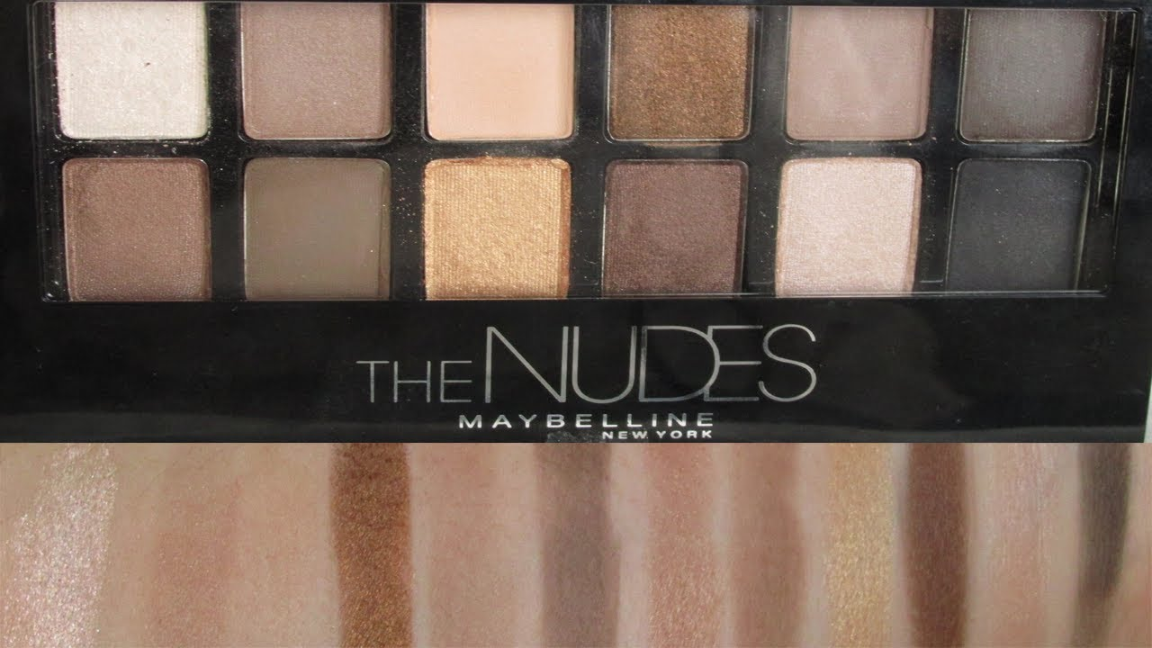 Attractive Maybelline Nude Swatches Gif