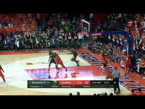 Jaren Jackson Jr. Drives and Dunks vs. Illinois