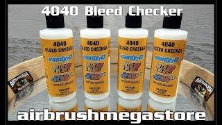 4040 تنزف مدقق Createx الألوان