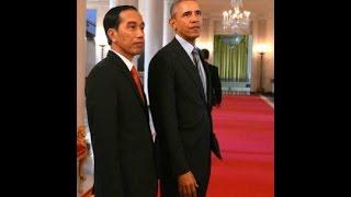 President Jokowi (Joko Widodo) arm wrestling challenge Full HD