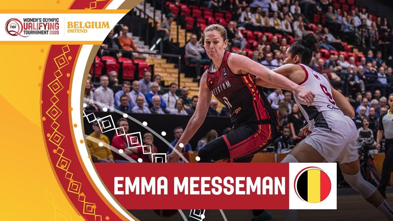 Emma Meesseman (Belgium) - Highlights | FIBA Women's Olympic Qualifying Tournament 2020