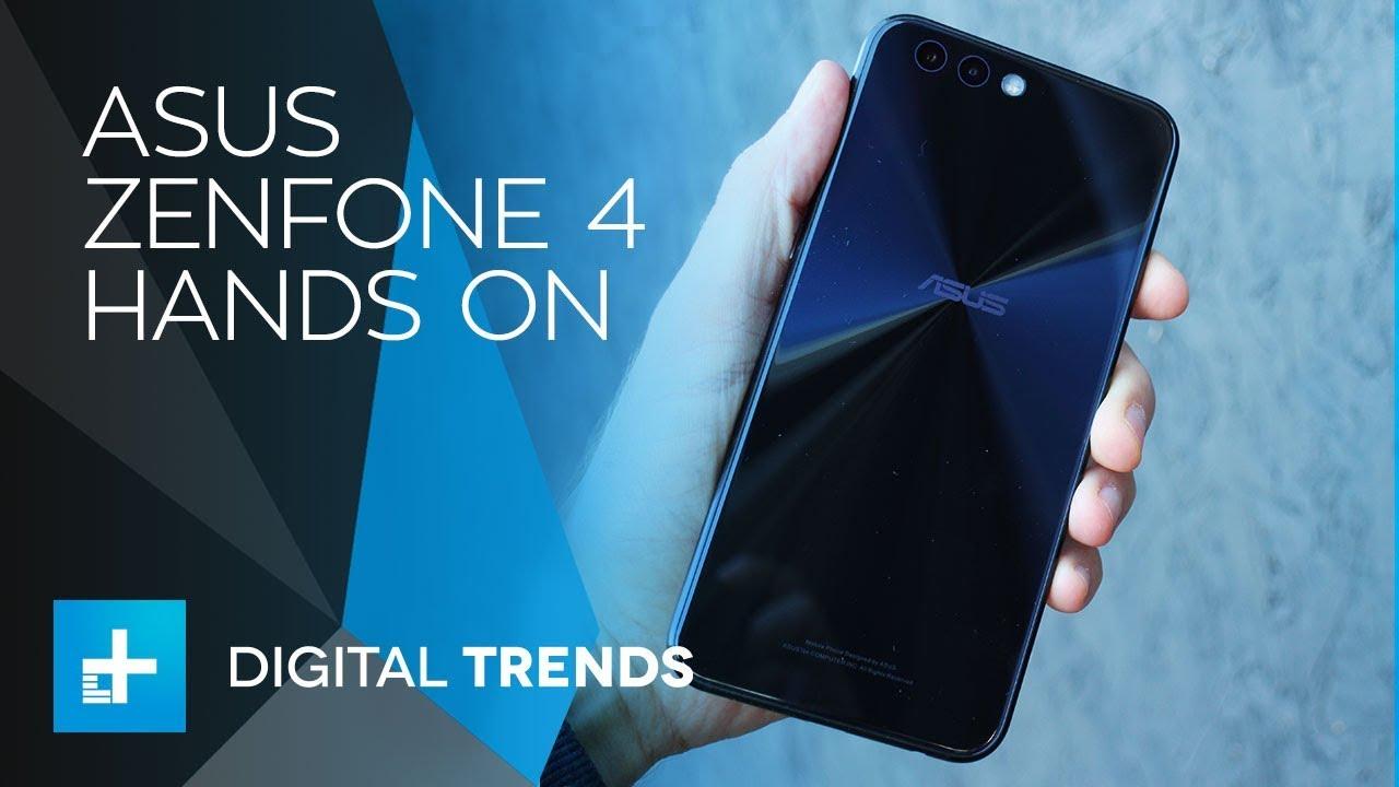 ASUS ZenFone 4 Smartphone – Hands On Review