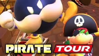 ALL PIRATE TOUR CUPS 100%! | Mario Kart Tour (Android & IOS)