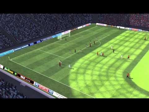 Man Utd vs Man City - Lawrence Goal 64 minutes