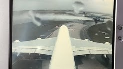 Tail Cam Takeoff! An Air France Airbus A380 Leaving Paris-CDG