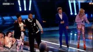 Group Performance- You're The Voice- The Voice UK- Semi-final Results