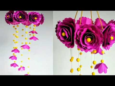 how-to-make-paper-flower-decorations.-simple-steps!-arts-and-crafts-for-adult-and-kids!