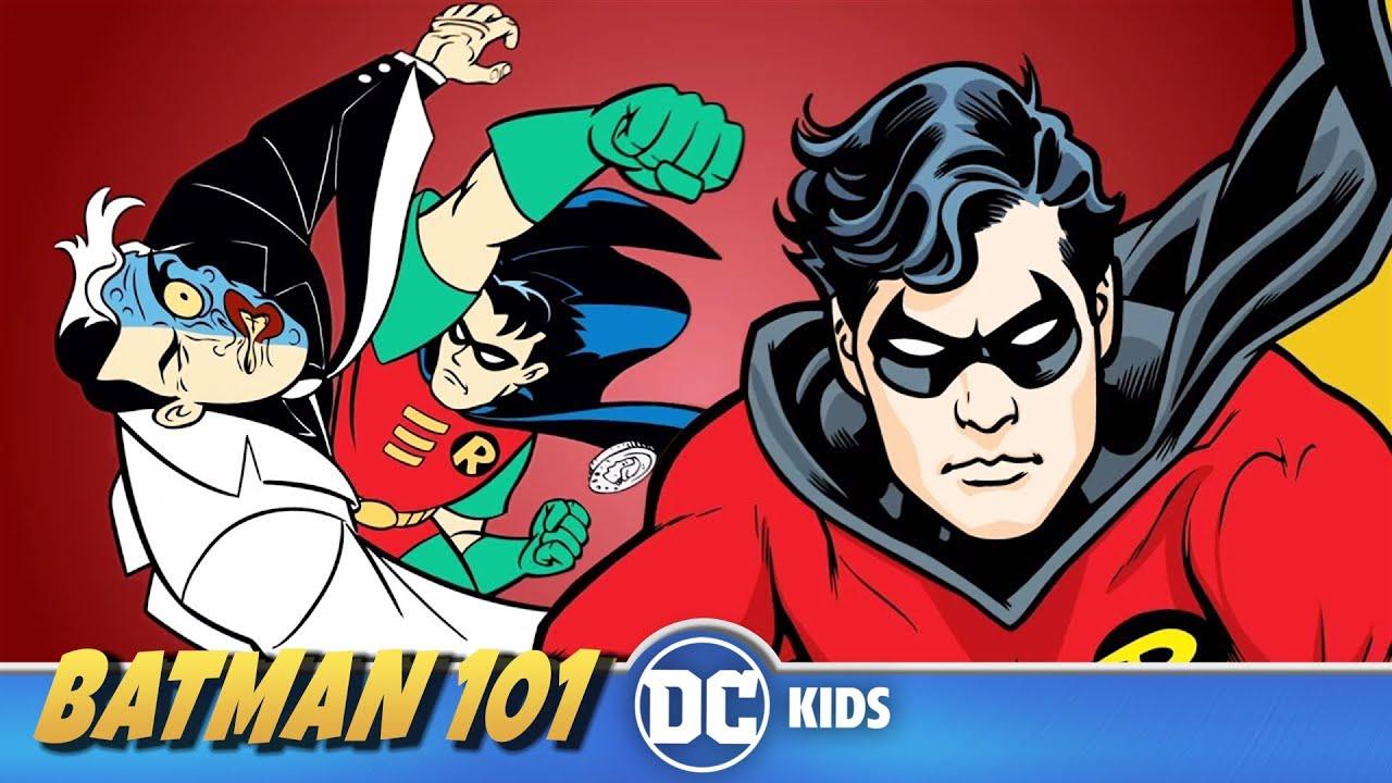 Curiosidades de Robin | Batman 101 En Latino | DC Kids