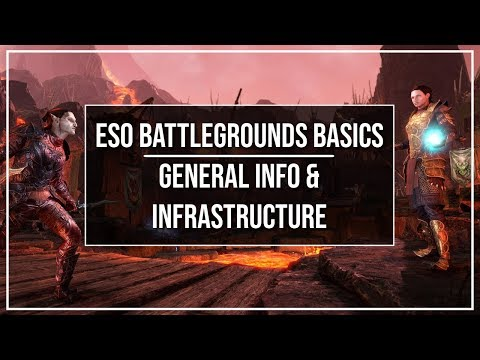 ESO Battlegrounds Basics - General Info and Infrastructure