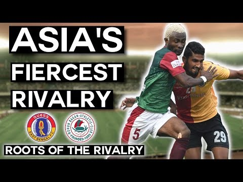 Kolkata Derby: Asia's Most Fierce Rivalry | Mohun Bagan vs East Bengal | Roots of the Rivalry