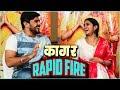 khulnawap.com - Kaagar | Rapid Fire With Rinku Rajguru & Shubhankar Tawade | Upcoming Marathi Movie 2019