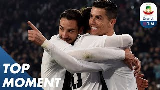 Ronaldo On Target with Lethal Strike!    Juventus 3-0 Frosinone   Top Moment   Serie A