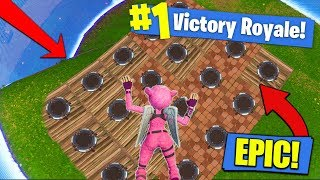 The MOST LAUNCH PADS In Final Circle - Fortnite Battle Royale!