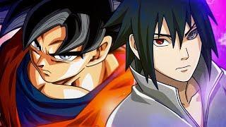 Goku VS. Sasuke   Torneio de Titãs Part. Yuri Black