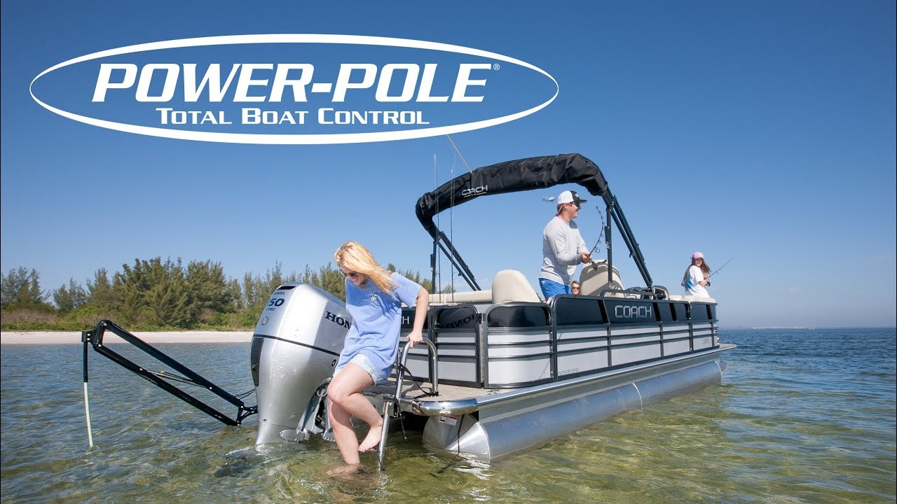 Installing A Power Pole Anchor On A Pontoon Boat