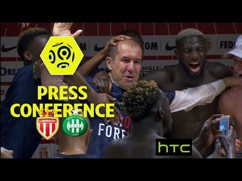 Press Conference AS Monaco - AS Saint-Etienne (2-0) - Week 31 / 2016-17
