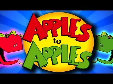 I AM SCARED TO PLAY THIS WITH MY FRIENDS - APPLES TO APPLES