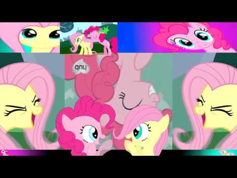 Avast Fluttershy and Pinkie Pie's Ass