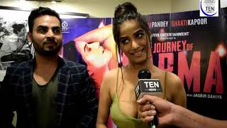 Poonam Pandey Exclusive Interview | The Journey of Karma | Movie Promotion in Delhi | #MeeToo