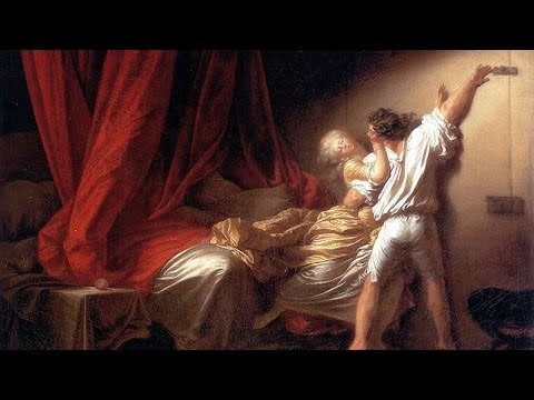 le verrou fragonard int rieur degas le viol dans la peinture youtube. Black Bedroom Furniture Sets. Home Design Ideas