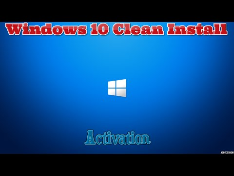 How to clean install windows 10 activation 720p hd youtube how to clean install windows 10 activation 720p hd ccuart Gallery
