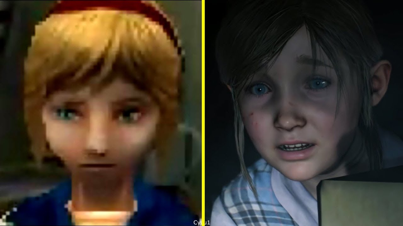 Resident Evil 2 Remake Vs Original Early Graphics
