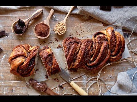 Trenza de chocolate o Babka - Una merienda deliciosa