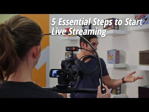 5 Essential Steps to Start Live Streaming