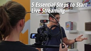 5 Essential Steps to Start Live Streaming thumbnail
