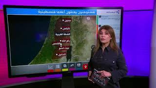 لماذا رفع مستوطنون إسرائيليون أعلام فلسطين في شوارع الضفة الغربية؟