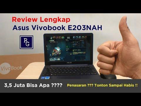 Review Lengkap Laptop Asus Vivobook E203NAH | ReviewGadgetIndonesia