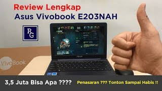 Review Lengkap Laptop Asus Vivobook E203NAH | ReviewGadgetIndonesia