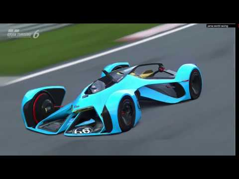 GT6 Eventos de temporada Supervuelta de coche de carrera.