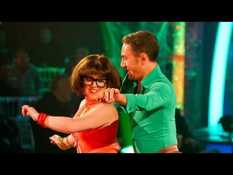 Dani Harmer & Vincent Cha Cha to 'ScoobyDoo Theme'  Strictly Come Dancing 2012  BBC One