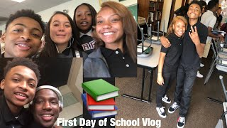 GRWM: FIRST DAY OF SCHOOL + VLOG |2018| (Sophomore Year)