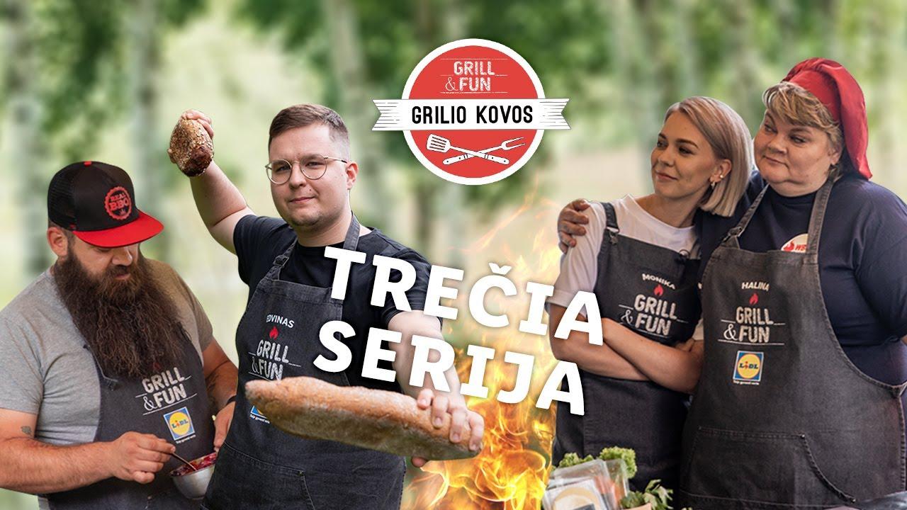 """""""Grilio kovos"""" 2020 – Monika prieš Edviną! Trečia serija"""