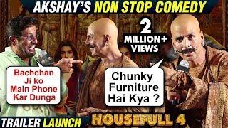 Housefull 4 Trailer Launch All FUNNY Moments | Akshay, Ritesh, Chunky, Bobby, Kriti, Pooja