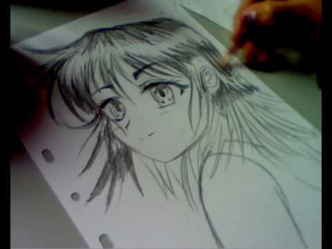 Dessin Drawing Manga Girl Youtube