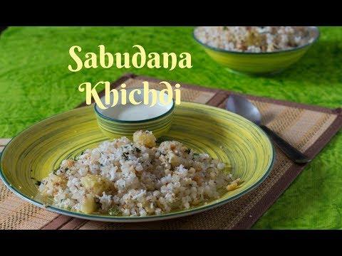 Sabudana Khichdi-Vrat recipe- Non sticky Sago Khichdi-Quick and easy Sabudana Khichdi by Chef Smita