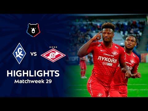 Highlights Krylia Sovetov Vs Spartak (1-2)