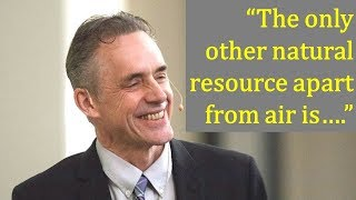 Jordan Peterson lessons on success, hard work & the surprising natural resource apart from Air!