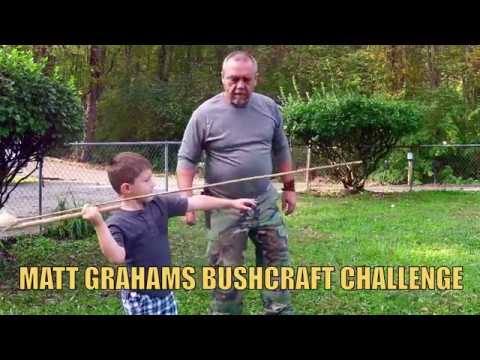 MATT GRAHAMS BUSHCRAFT CHALLENGE