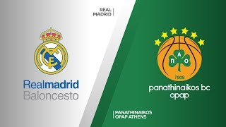 Real Madrid - Panathinaikos OPAP Athens Highlights   Turkish Airlines EuroLeague PO Game 2