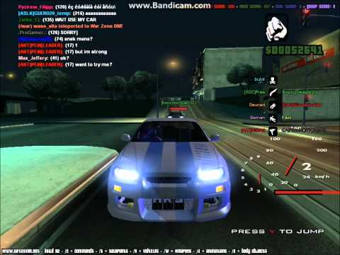 GTA SA - Fast 3 4 Furious (PART 2): This is a short video about street racing in gta sa Brian Oconnor goes to race with a nissan skyline r34 and races a toyota supra from the fast and the furious AND THE CAR MODS ARE NOT MINE enjoy! part 2 cops police car  link for skyline:http://files.gtainside.com/downloads/ftpe/1259255681_SKYLINE_FNF2_by_RYOSUKE.rar  New Video GUYS http://www.youtube.com/watch?v=IL2Hn2xCMi8&list=UUqrSpmzdimu1iNuK4bbHIcQ&index=1 please like and sub :D  No hates if the vid is bad cuz this was my first gta video R.I.P Paul Walker