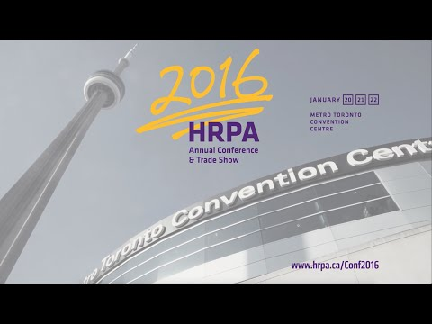 HRPA's 2016 Annual HR Conference & Trade Show