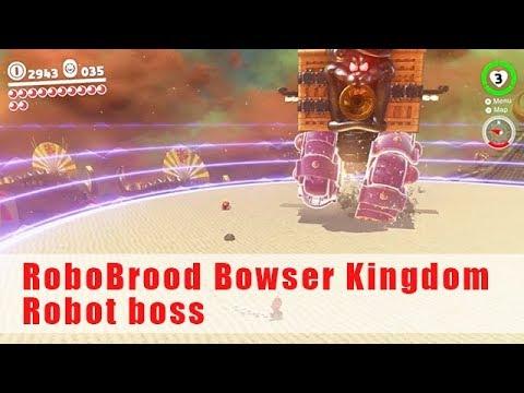 Robot Boss Bowser Kingdom Super Mario Odyssey Walkthrough