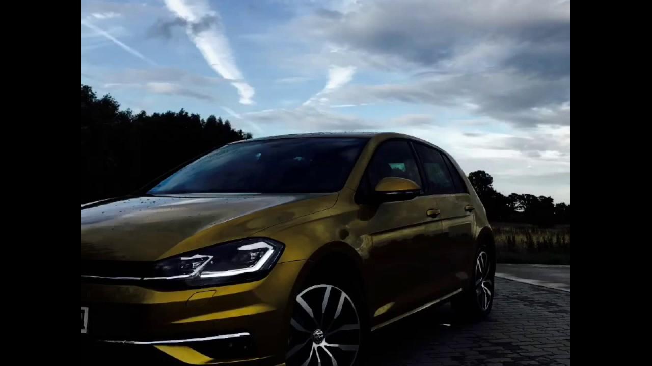 2017 VW Golf 7 LED Licht (LED Lights) - YouTube
