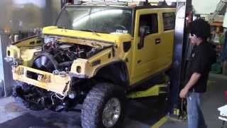 Johnny Magic H-2 Hummer Duramax Diesel  conversion Phase TWO Hybrid