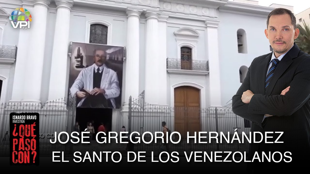 Que Paso Con Jose Gregorio Hernandez El Santo De Los Venezolanos Vpitv Youtube