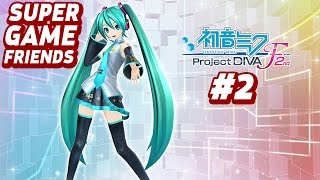 Hatsune Miku Project Diva F 2nd - Part 2 - She Is A Magical Electronics